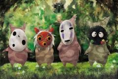 Korogus of Ghibli universe