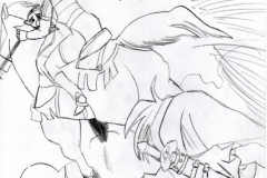 Scène du manga de Zelda