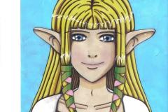 Zelda's portrait