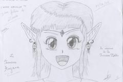 Le visage de la Princesse Anjana
