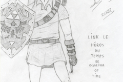 Link le Héros du Temps de Ocarina of Time