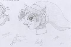 Link de Majora's Mask