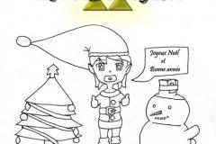 Joyeux Noël sur Triforce Legend [ Line ]