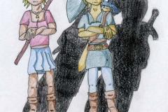 Kasuto et Dark LinkGe