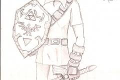 Link de Ocarina of Time