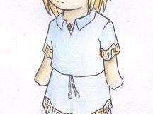 Chibi Link avec le design de Linkael