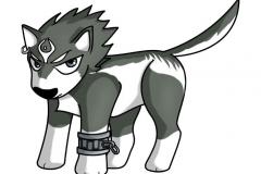 Chibi Link loup