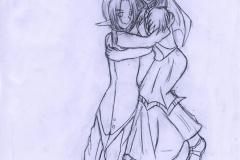 Link et Kasuto se marient