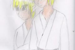 Link et Kasuto en kimono