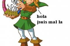 Link casse la Harpe des Ages