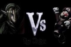 Link VS Zombie Mario