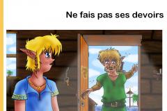 Link - Ne fait pas ses devoirs